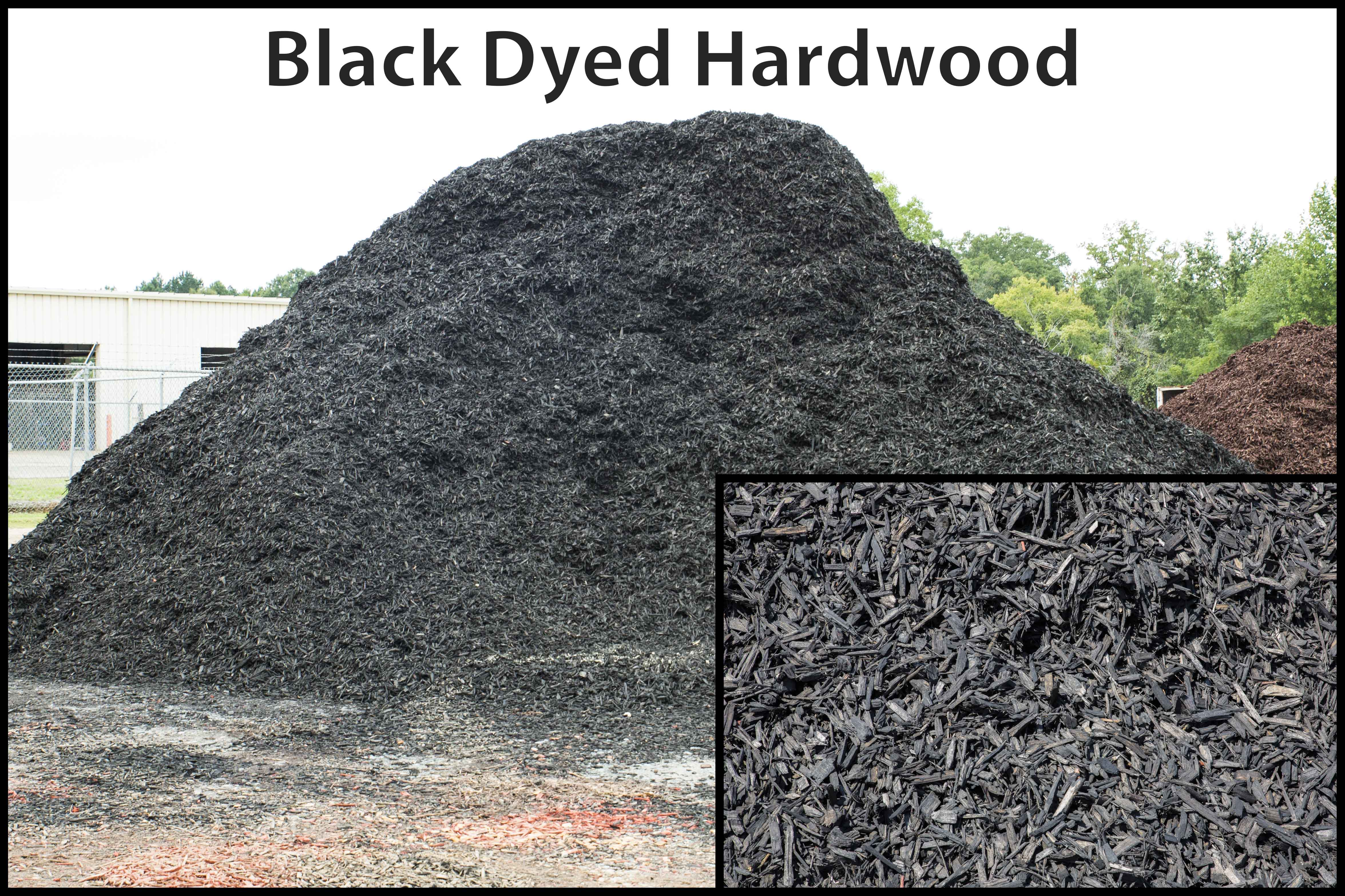 Black Dyed Hardwood