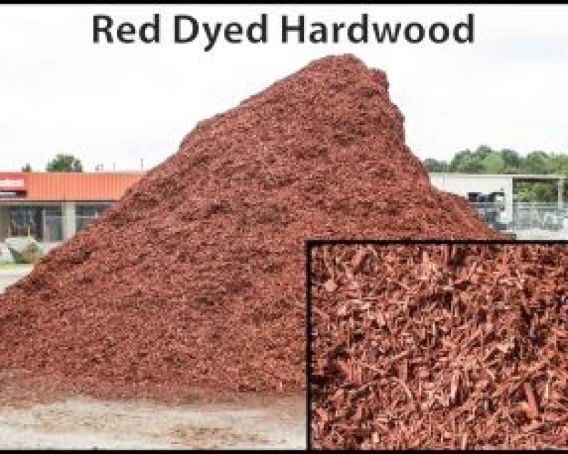 Red Dyed Hardwood