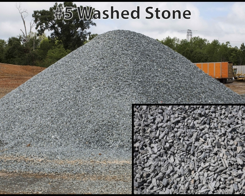 No 5 Washed Stone