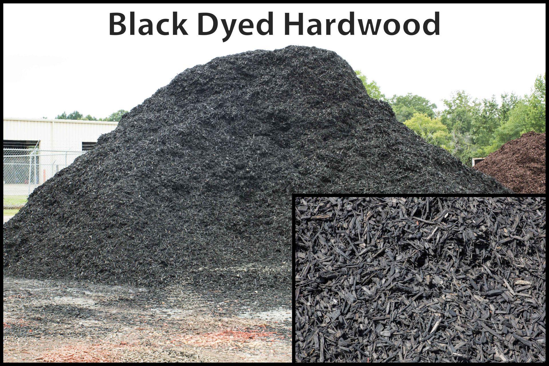 Black Dyed Hardwood