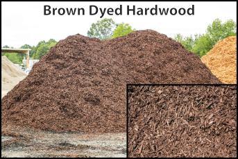 Brown Dyed Hardwood