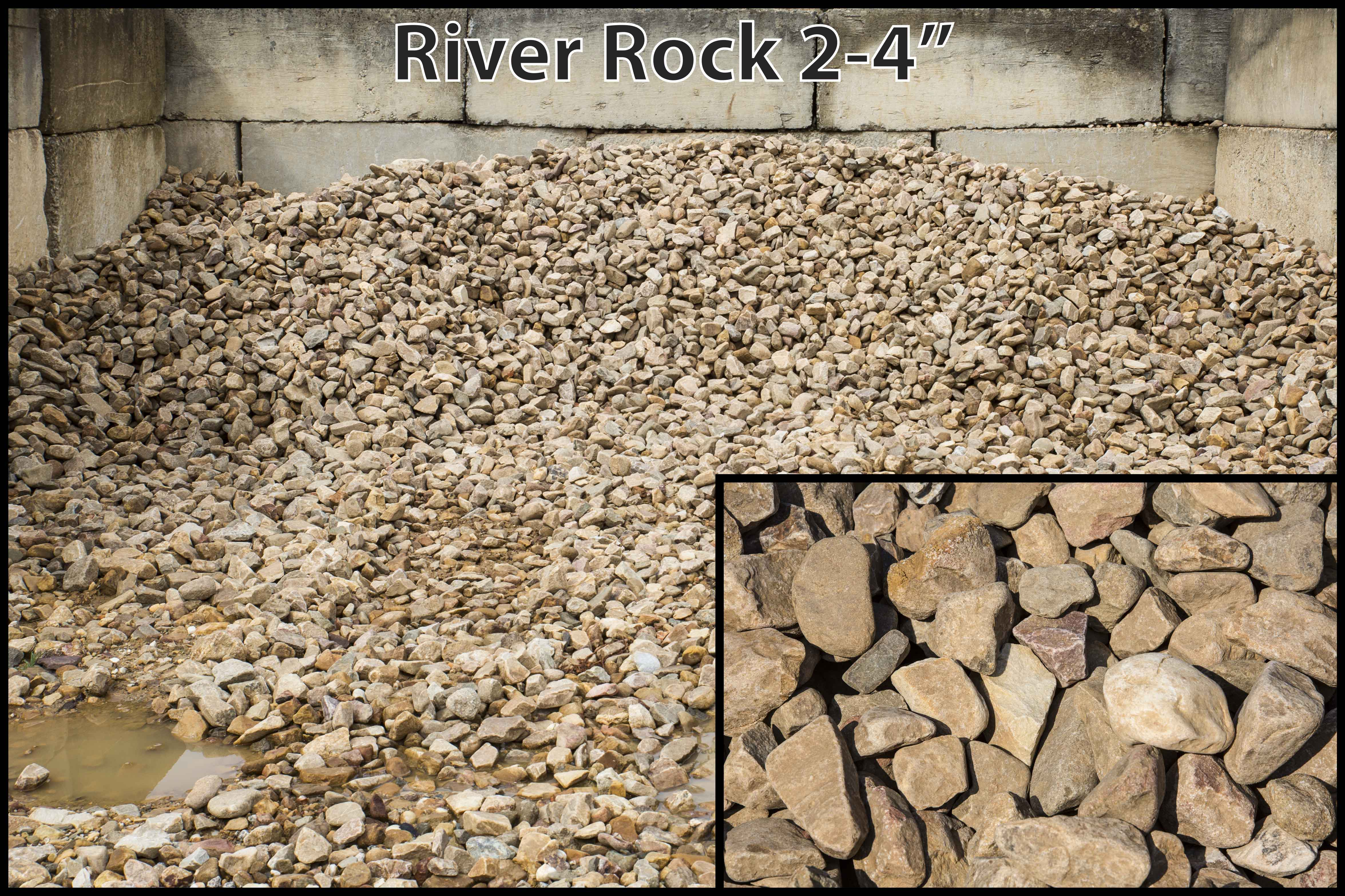 River Rock 2 4 Quot Mccollum Trucking And Grading