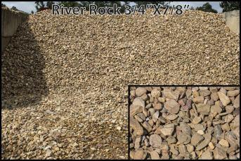 River Rock 3/4″ x 7/8″