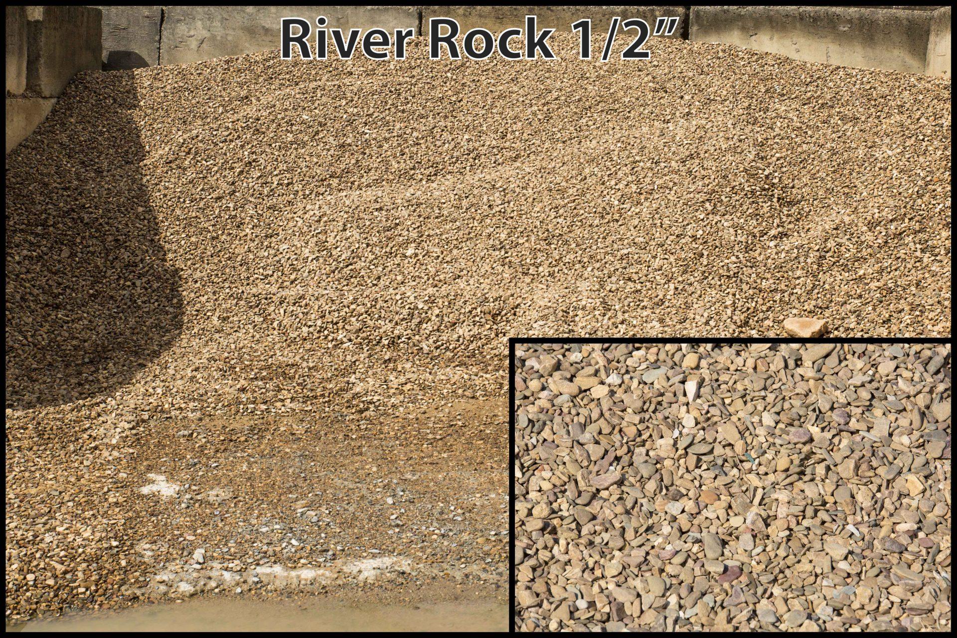"River Rock 1/2′"""