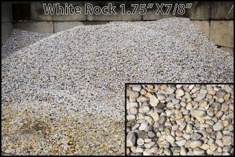 White Rock 1.75″ x 7/8″