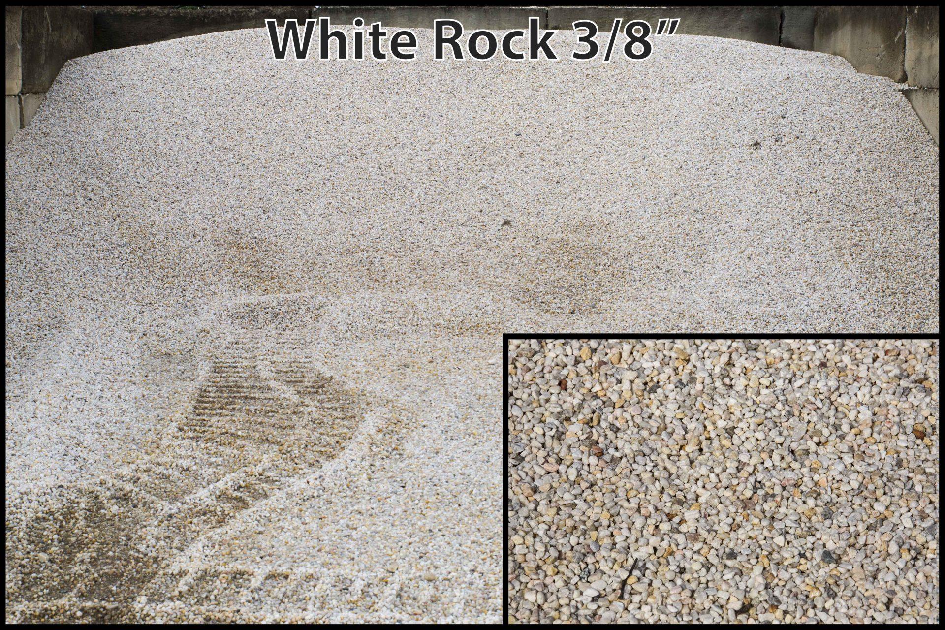 White Rock 3/8″
